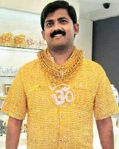 3.5 kg Gold Shirt
