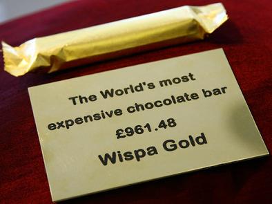 Cadbury's Wispa Gold bar