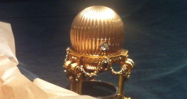 Rare Gold Egg Faberge