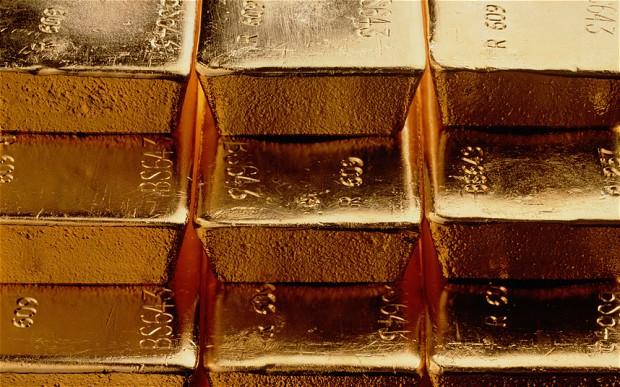 Gold Bars Sunken