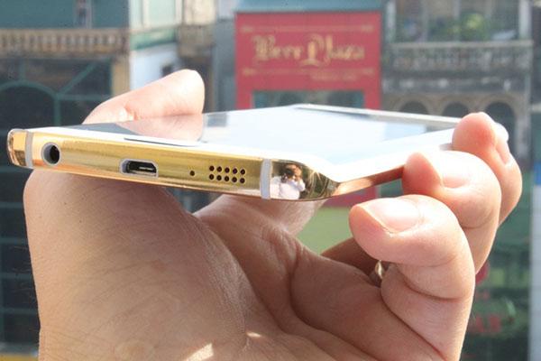Samsung Galaxy S6 24k Gold 1